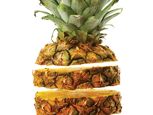 The prowess of pineapple