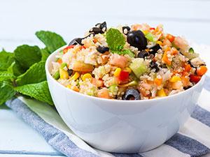 quinoa salad bowl