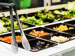 salad bar cafeteria