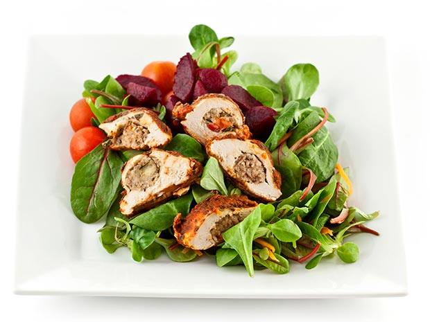 salad chicken
