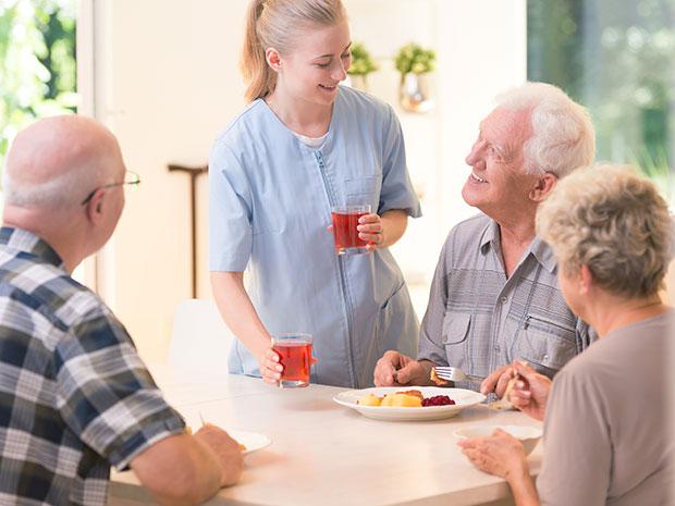 Senior Living Staff Cafeteria