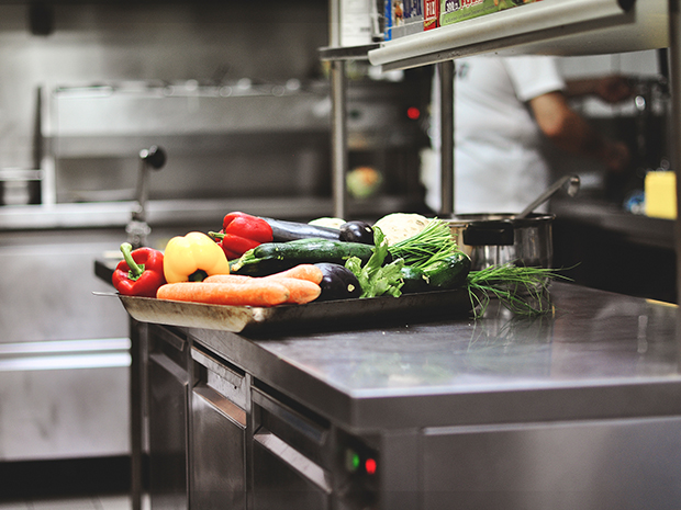 Commercial kitchen produce