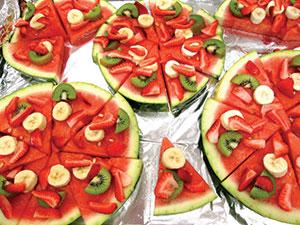 watermellon pizza