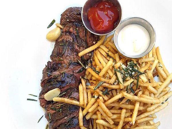 maple ash steak frites