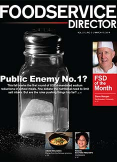 FoodService Director Magazine FoodService Director   March 2014 Issue