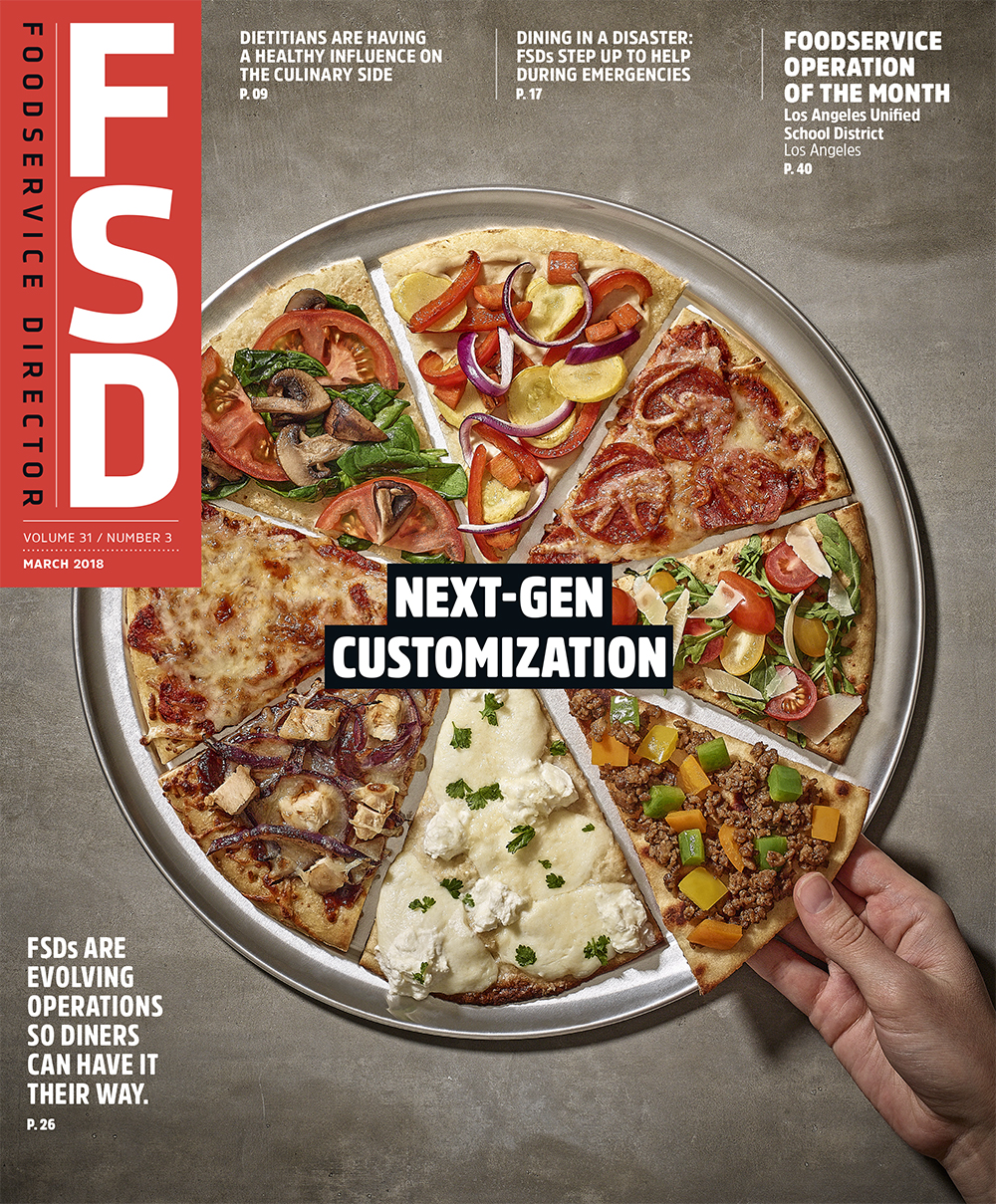 FoodService Director Magazine Foodservice Director | March 2018 Issue
