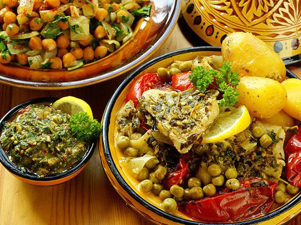 moroccan chermoula fish tagine