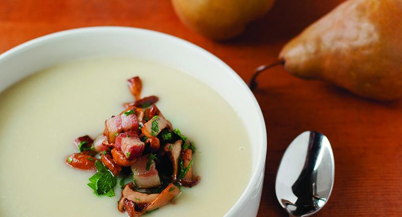 Pear and Sunchoke Soup