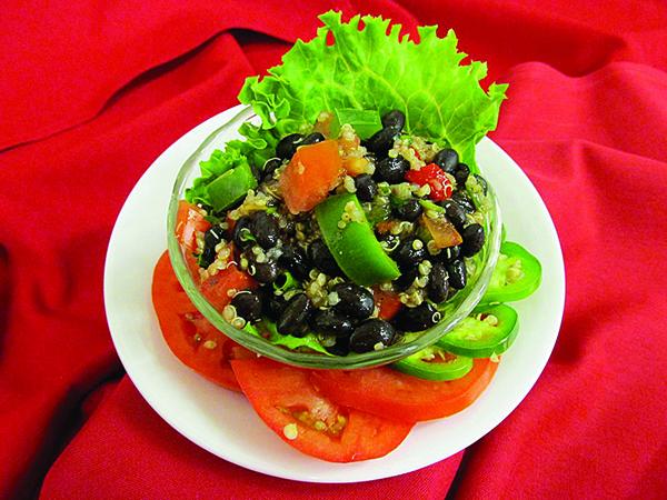 pennswood black bean quinoa salad