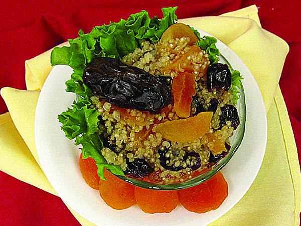 pennswood quinoa date salad