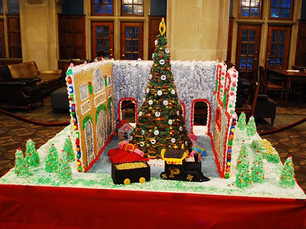 purdue gingerbread house