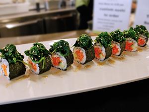 spinach sushi university oregon