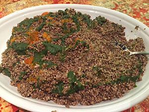 buckwheat risotto