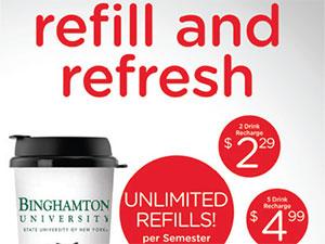 refill refresh binghampton university