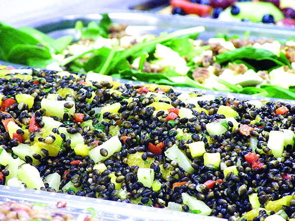 rex healthcare heirloom black barley salad
