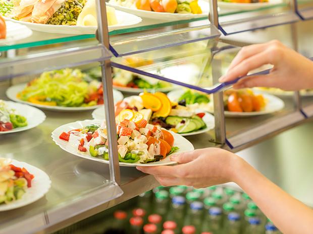 self-serve cafeteria