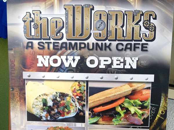 the works sign