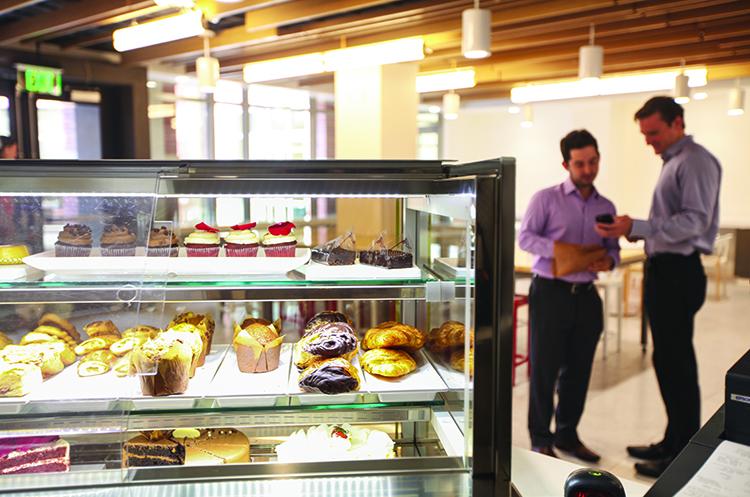 USC pastry case