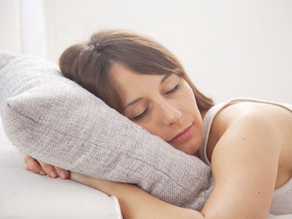 woman nap sleep