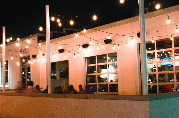 garage restaurants