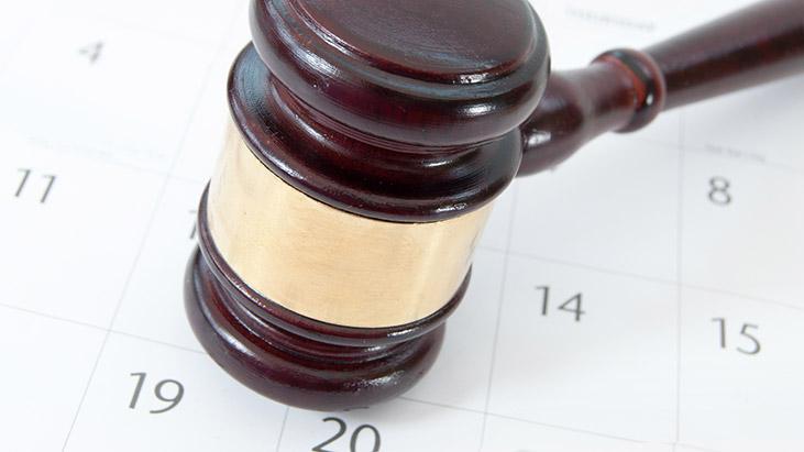 gavel calendar schedule