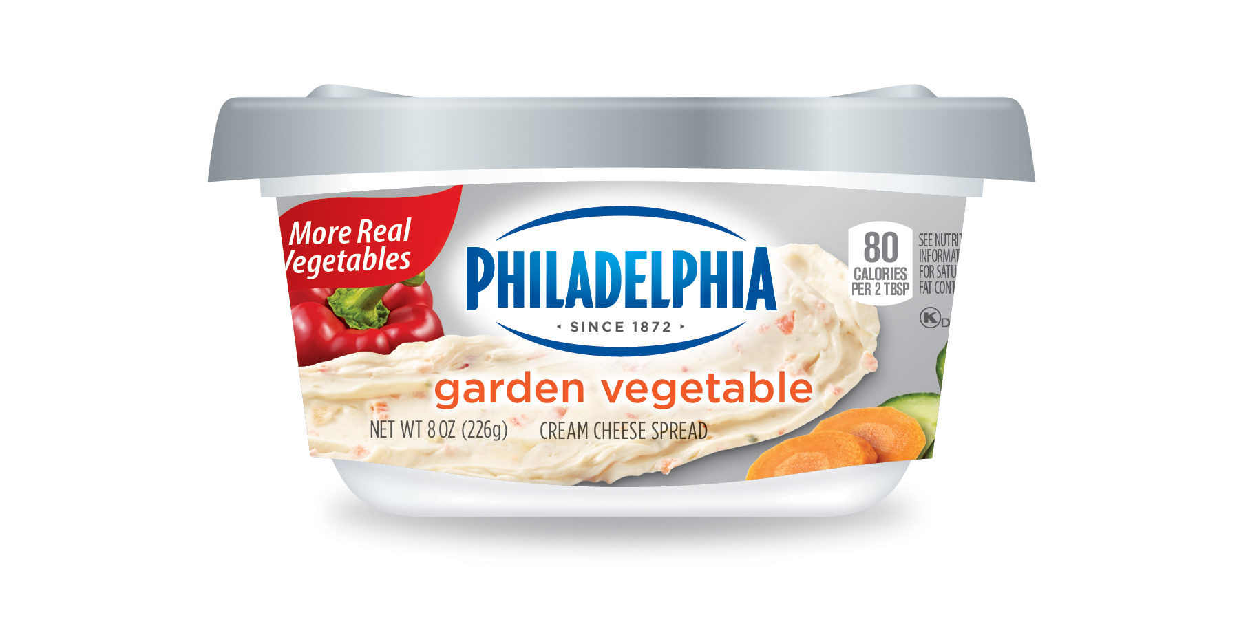 Philadelphia Cream Cheese Spreads Load Up On Fruits And Veggies