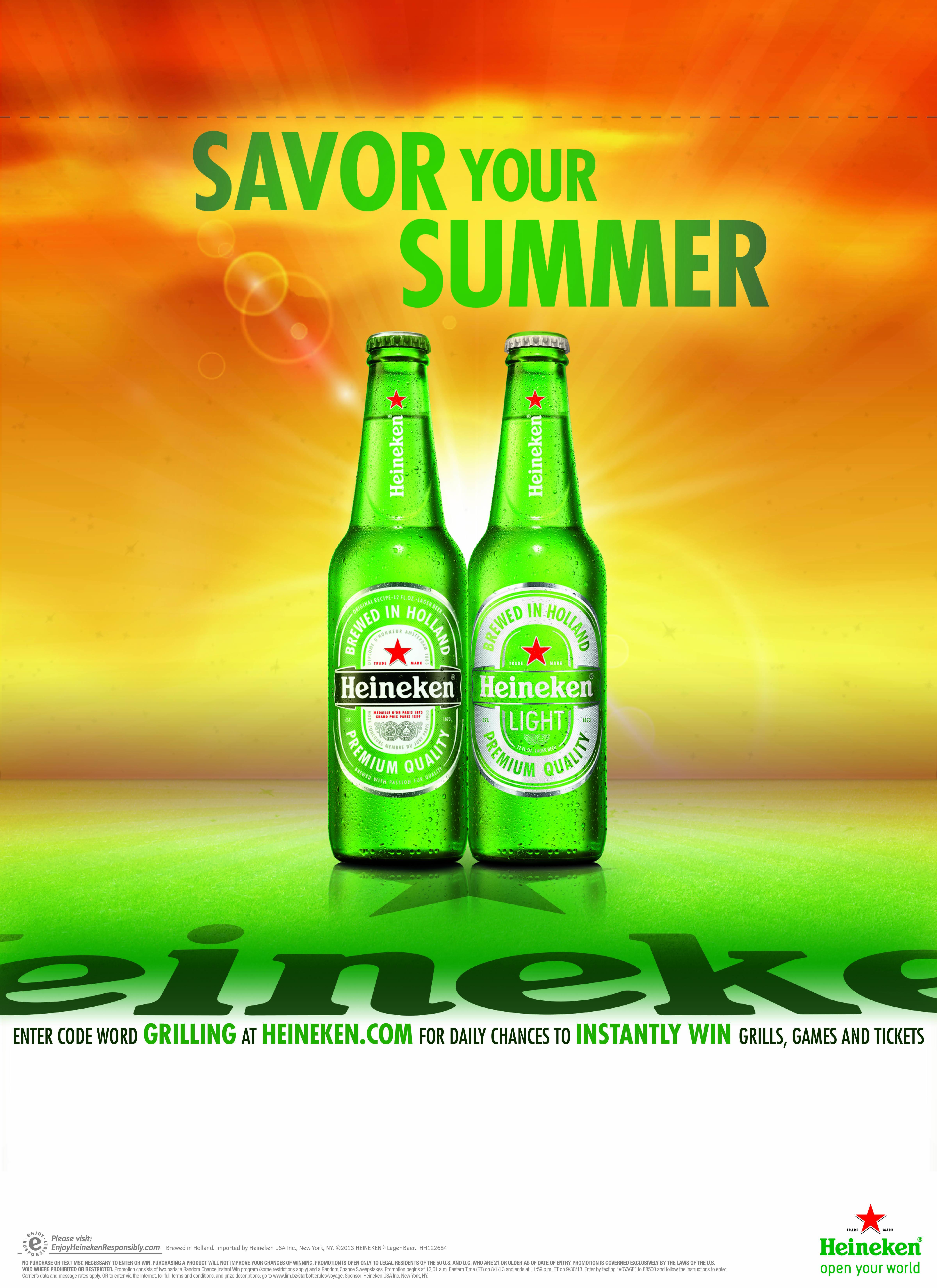 Heineken big green egg sweepstakes