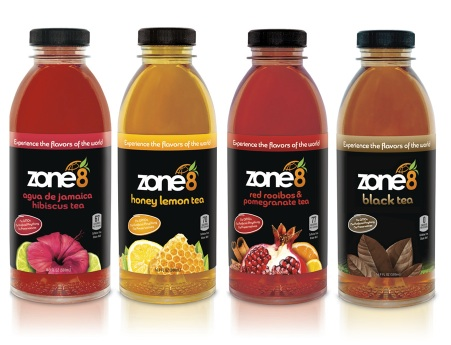 ZONE 8 Beverages Launches Better-for-you Tea and Juice Blends