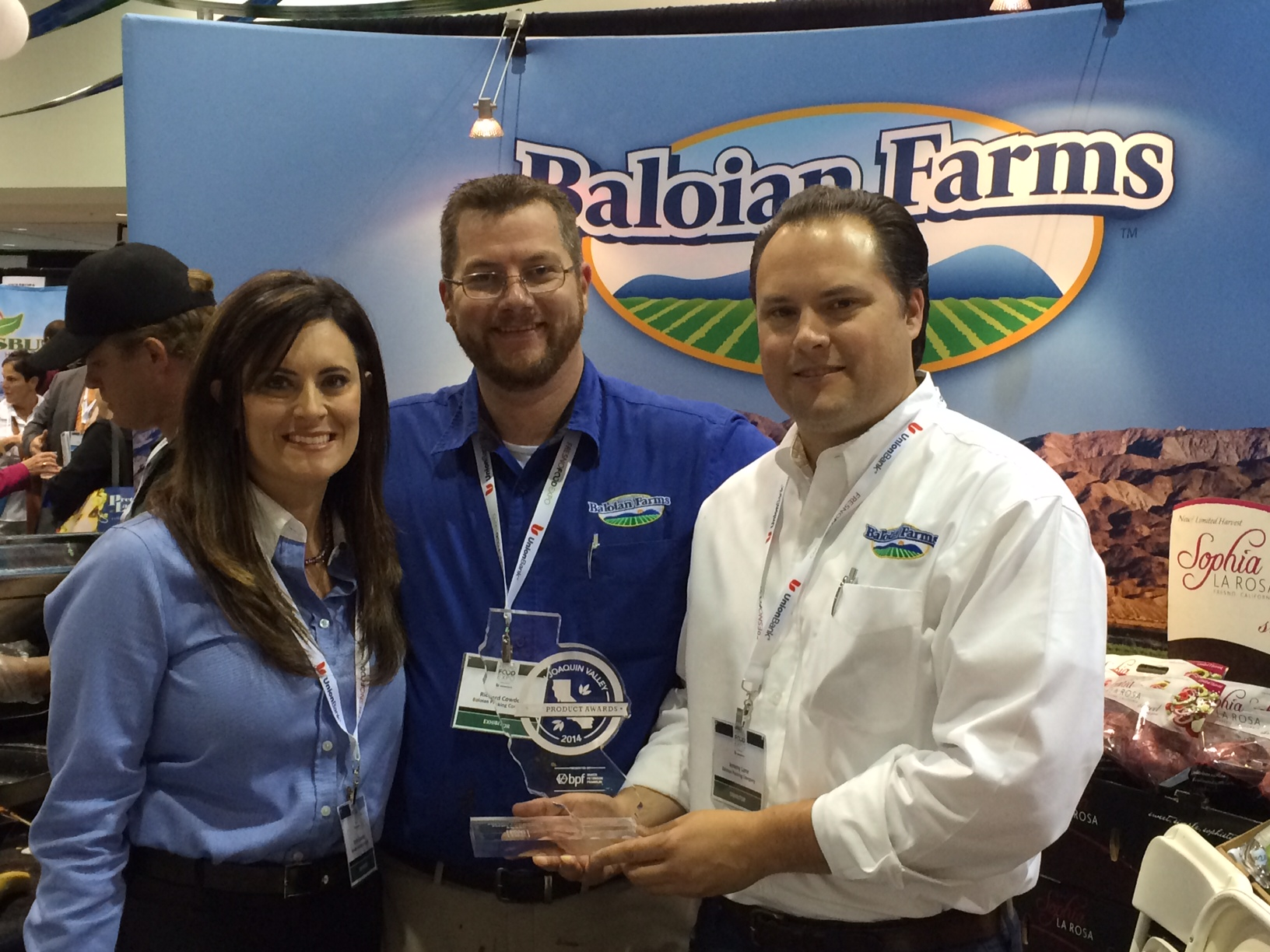 Baloian Farms Took Home People's Choice Award