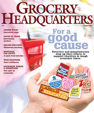 Winsight Grocery Business Magazine August 2009 Issue