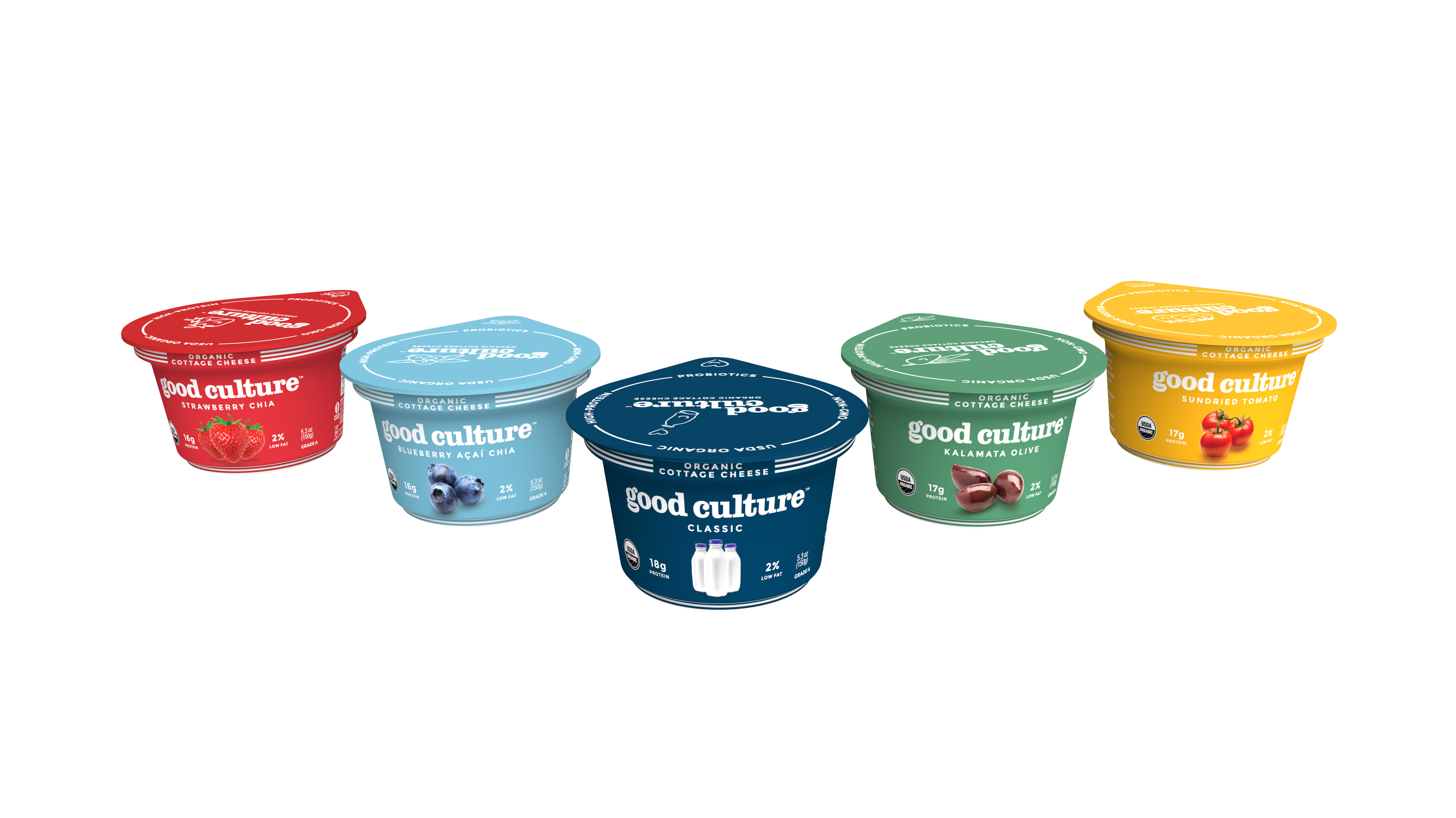 Good Culture Debuts Flavored Organic Cottage Cheese