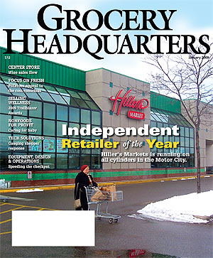Winsight Grocery Business Magazine January 2009 Issue