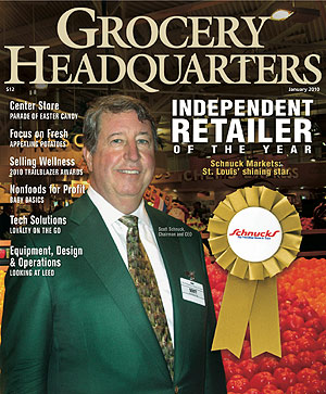 Winsight Grocery Business Magazine January 2010 Issue