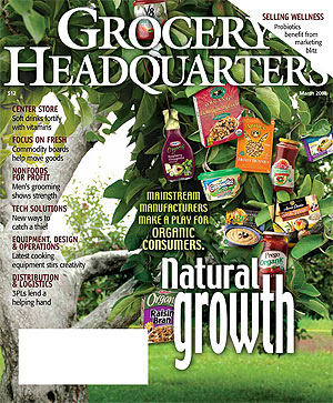 Winsight Grocery Business Magazine March 2008 Issue