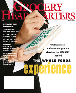Winsight Grocery Business Magazine March 2009 Issue