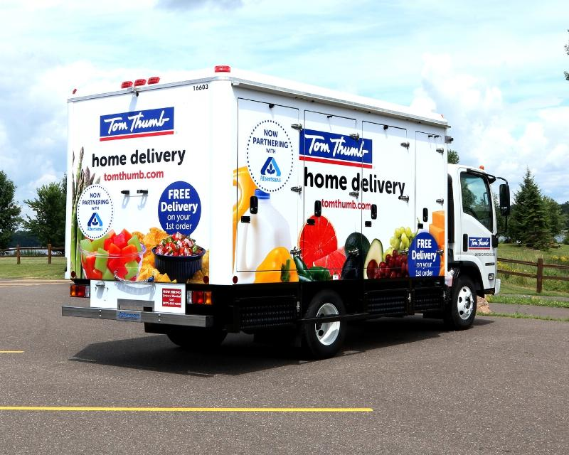 Albertsons Food Delivery Service
