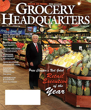 Winsight Grocery Business Magazine October 2008 Issue