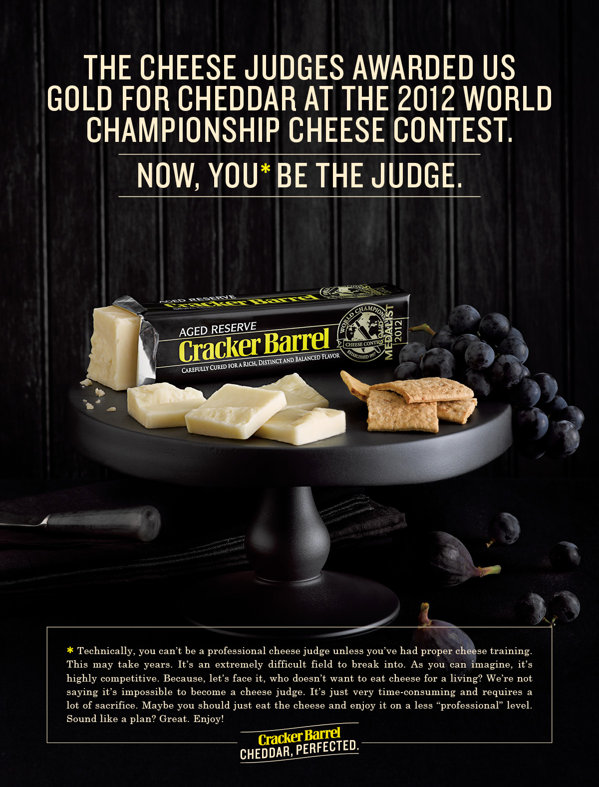 """Cracker Barrel Cheese Launches """"Cheddar, Perfected ..."""