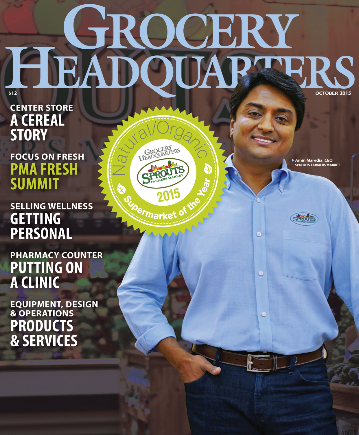 Winsight Grocery Business Magazine October 2015 Issue