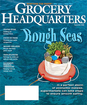 Winsight Grocery Business Magazine September 2008 Issue