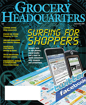 Winsight Grocery Business Magazine September 2009 Issue