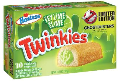 Hostess Introduces 'Ghostbusters' Themed Twinkies