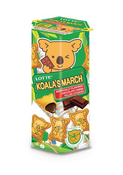 Lotte Koala's March Cookies Available in Southern California