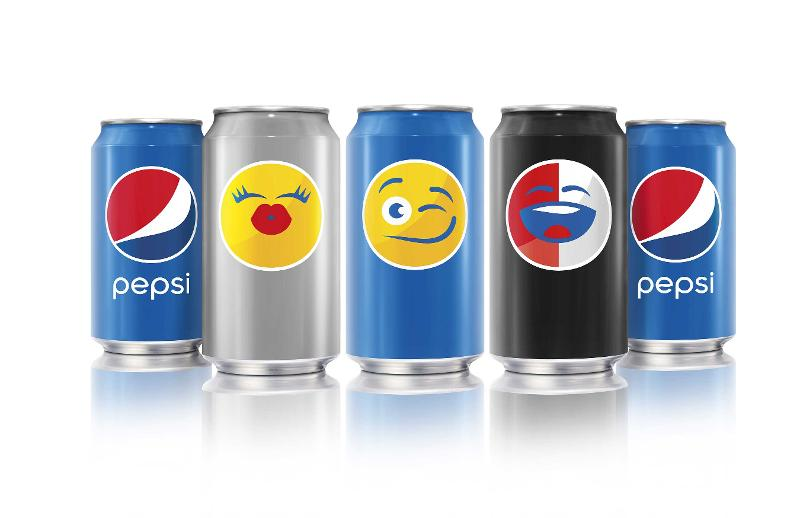 pepsi launches pepsimoji designs for cans and bottles
