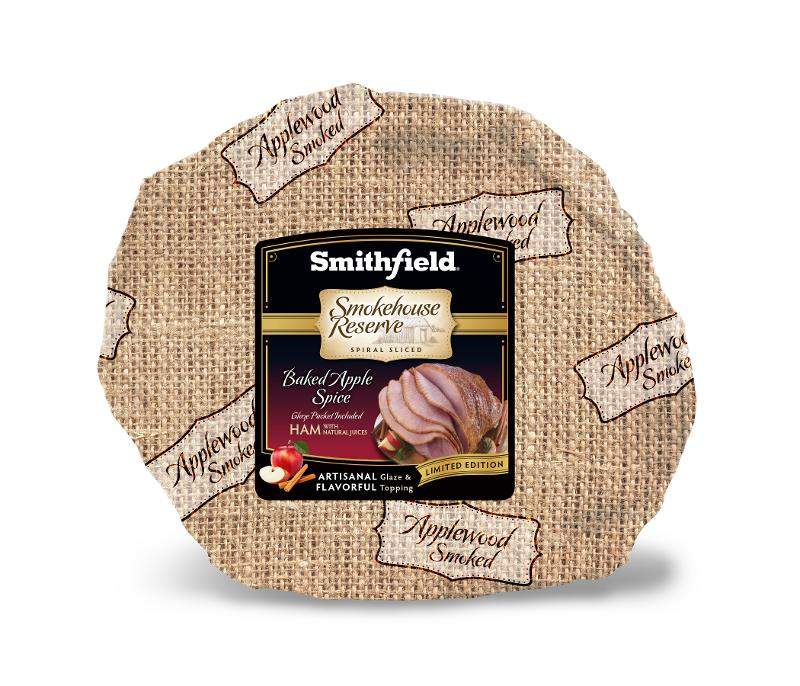 Smithfield Launches Baked Apple Spiral Sliced Ham