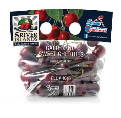Stemilt Releases 5 River Islands Cherries Brand