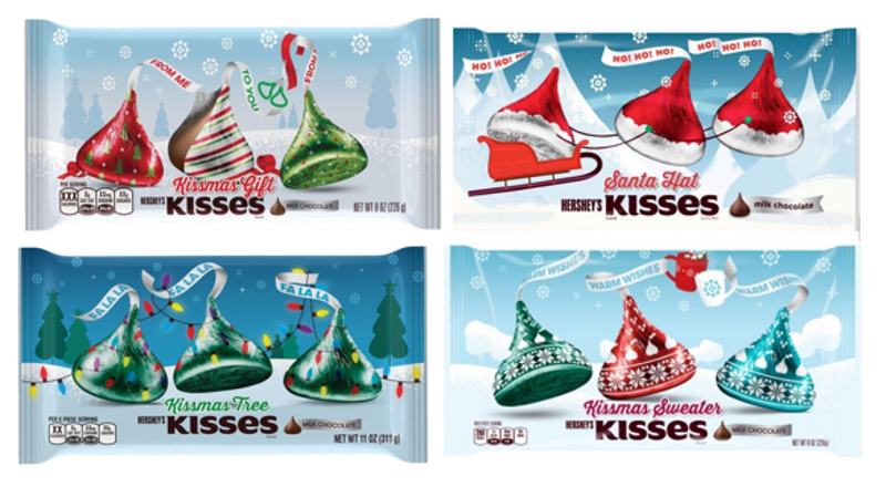 053403b8d62c0 The Hershey Company Releases 2016 Holiday KISSES