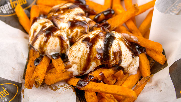 get fried sweet potato fries