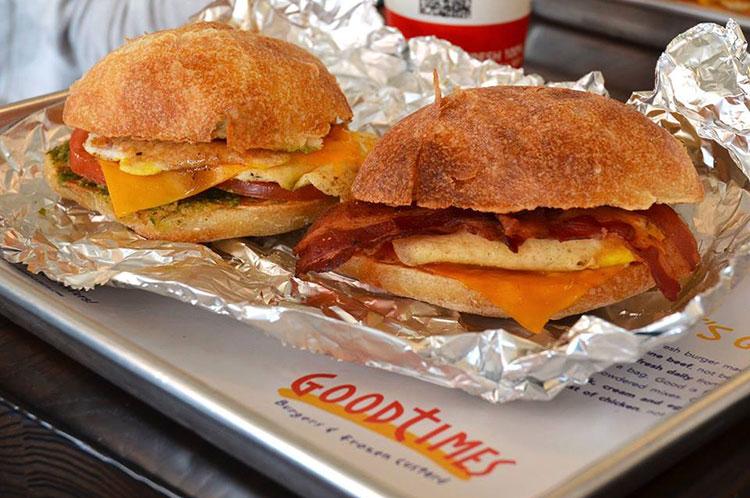 good times breakfast tray