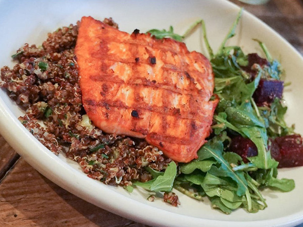 True Food Kitchen - Grilled Steel Head Salmon